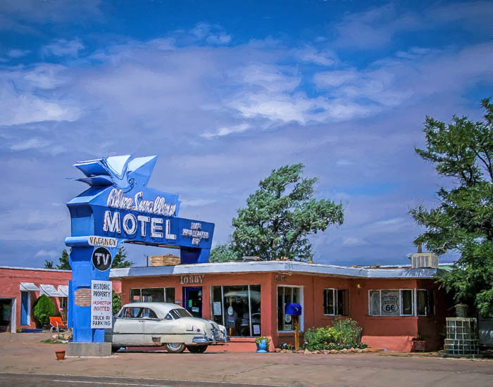 Blue Swallow, Tucumcari, NM