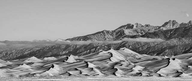 Great Sand Dunes in the Morning