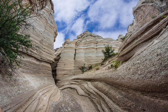 Slot Canyon at Kasha-Katuwe Tent Rocks