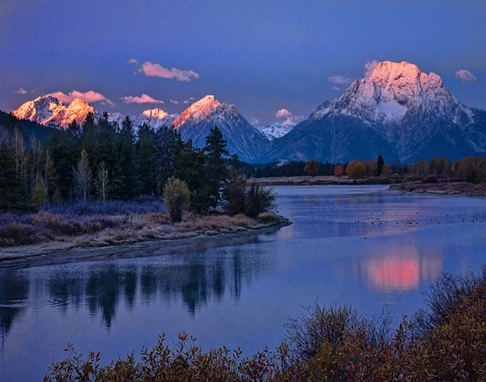 Oxbow Bend at Dawn