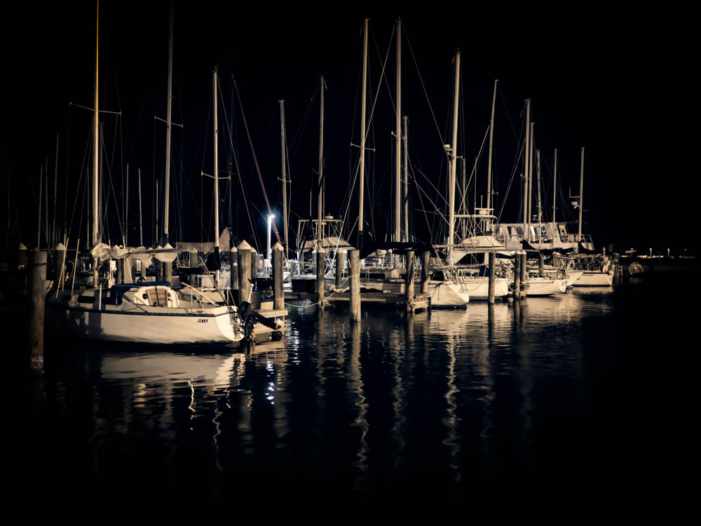 Sailboats in Rockport Harbor