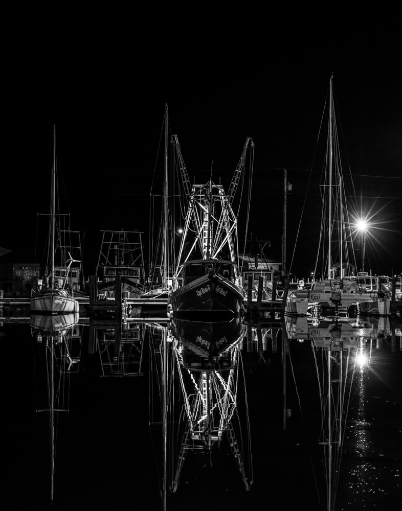 Capt Reese II at Night
