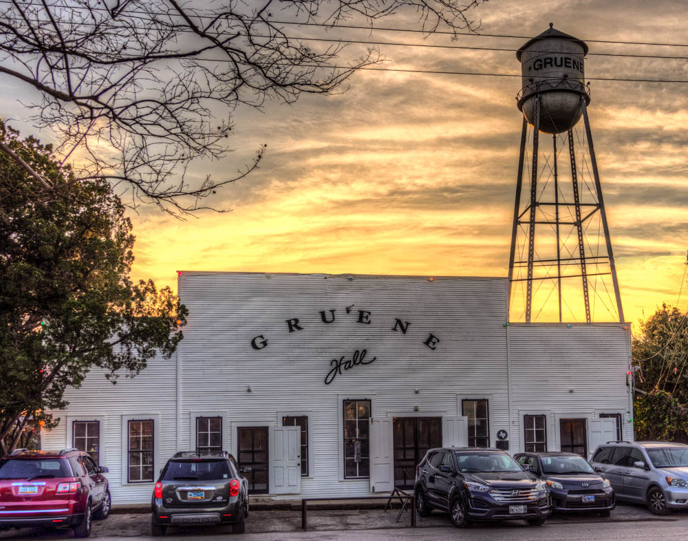 Gruene Hall in Evening